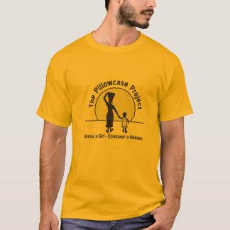 A camisa oficial da equipe de projeto da fronha de