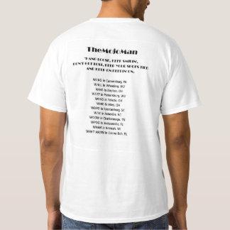 A camisa oficial do clube de fãs T do homem de