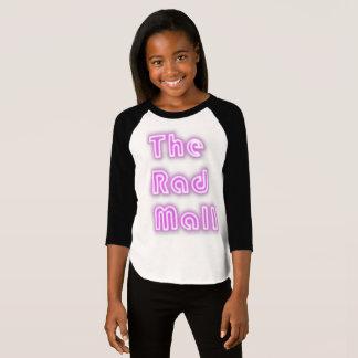 """A camisa """"retro"""" da alameda do Rad (meninas)"""