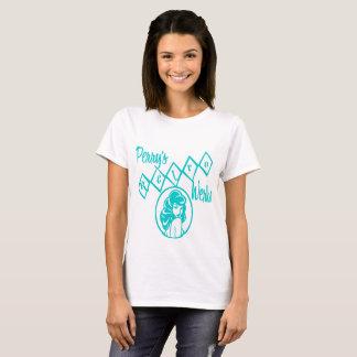 A camisa retro das mulheres do Werks de Perry