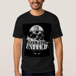 A camisa unida gerador (no preto) t-shirt
