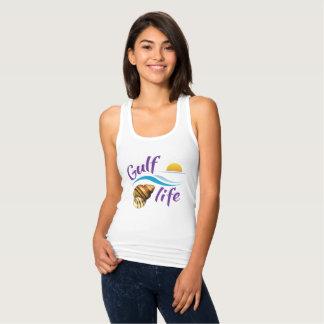 A camiseta das mulheres da vida do golfo (de