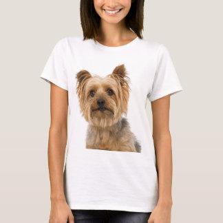 A camiseta das mulheres do cão de filhote de