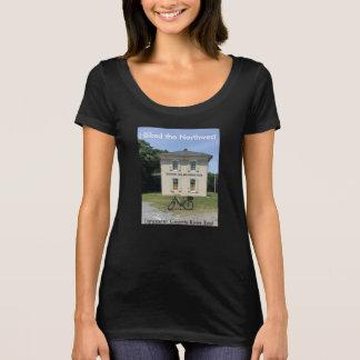 A camiseta das mulheres noroestes da fuga do rio