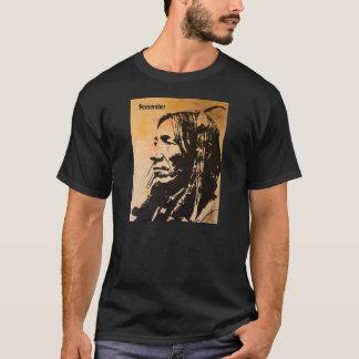 A camiseta do antepassado do nativo americano
