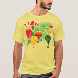 A camiseta do homem da festa do balão de Bristol