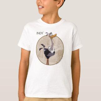 A camiseta do miúdo de INDI