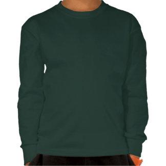 A camiseta do miúdo do coelhinho da Páscoa da