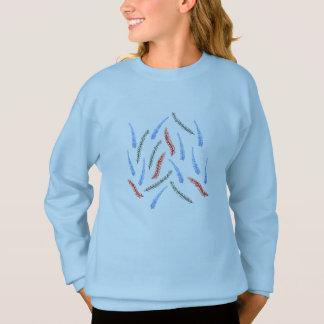A camisola das meninas do ramo agasalho