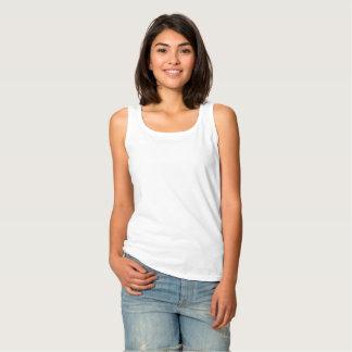 A camisola de alças básica das mulheres regata