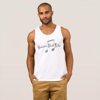A camisola de alças básica dos homens do dueto