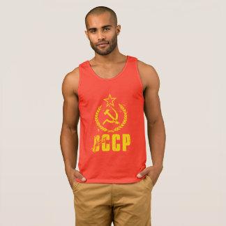 A camisola de alças comunista dos homens da