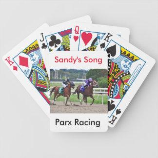 A canção de Sandy - Silvestre Gonzalez Baralhos Para Pôquer