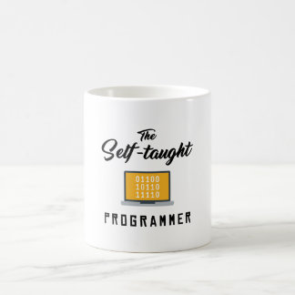 A caneca Auto-ensinada do programador