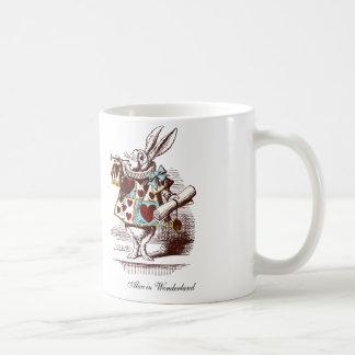 A caneca branca do coelho