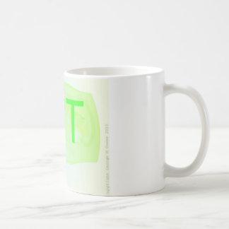 Caneca De Café A caneca da letra T