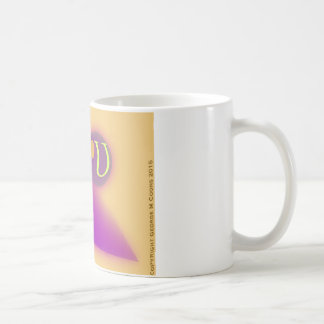 Caneca De Café A caneca da letra U