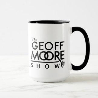 A caneca da mostra de Geoff Moore