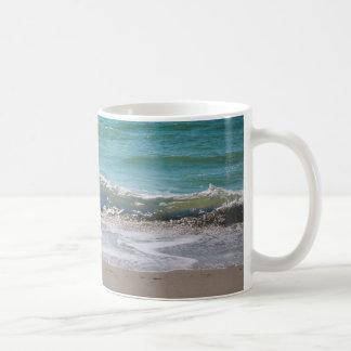 A caneca da onda de Myrtle Beach