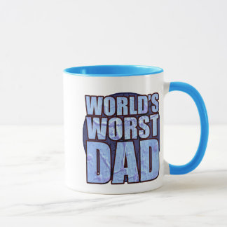 A caneca de café a mais má do pai do mundo