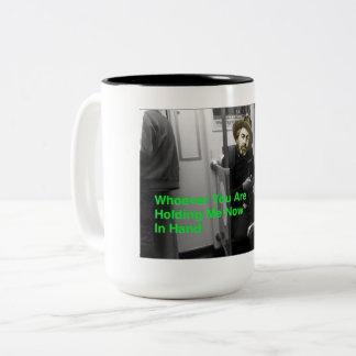 A caneca de café Cargo-Digital de Walt Whitman