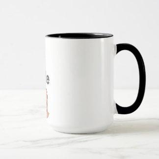 A caneca de café da mostra de Bob Doyle