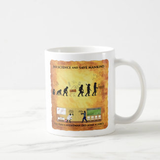A caneca de café esta Cavewoman espertos faz a