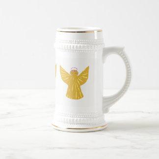 A caneca de cerveja do Natal agride os anjos