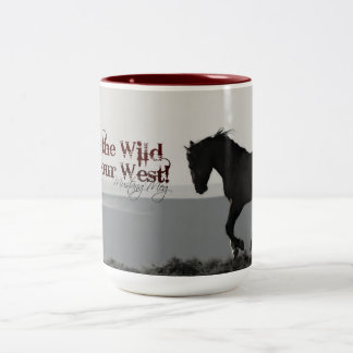 """A caneca de MustangWILD """"mantem o selvagem no"""
