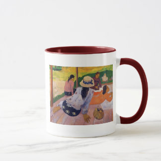 """A caneca de Paul Gauguin do Siesta"" -"