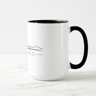 A caneca do café da pequena associação