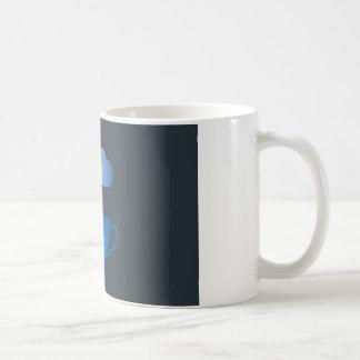 A caneca do chá do café