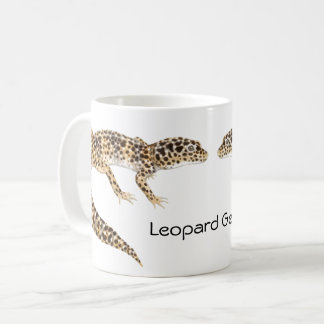 A caneca do geco do leopardo
