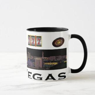 A caneca do jogador de Las Vegas