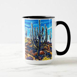 A caneca grande do Saguaro