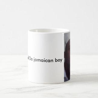 A caneca jamaicana do menino do general a Dinamarc