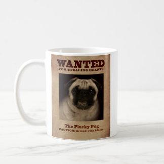 A caneca valente do Pug