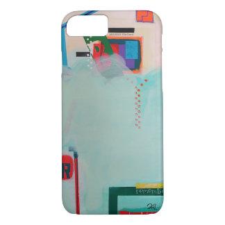 """A capa de telefone da arte abstracta """"recorda """""""