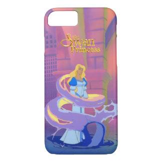 A capa de telefone do iPhone 7 da princesa da