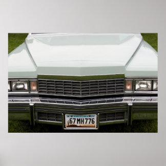 a capa de um carro americano clássico