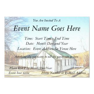 A capela do país convite personalizado