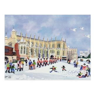 A capela Windsor de St George Cartão Postal