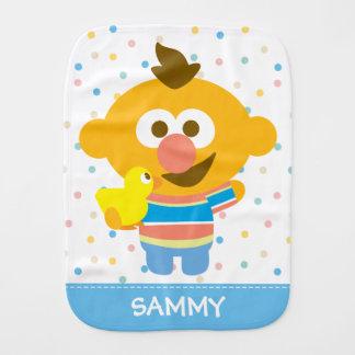A cara do bebê de Ernie e Duckie | adicionam seu Paninho Para Bebês