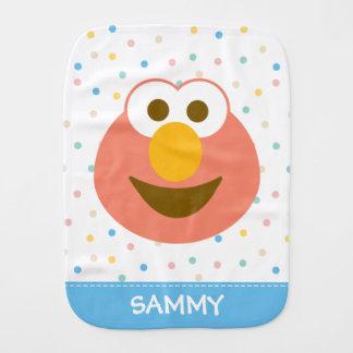 A cara grande | do bebê de Elmo adiciona seu nome Fraldinha De Boca