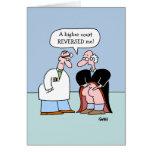A carreira jurídica engraçada obtem o cartão bom