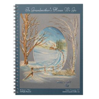 A casa da avó, caderno da arte da paisagem do