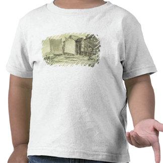 A casa de campo do pescador, Dôvar, 1790s (lápis & T-shirt