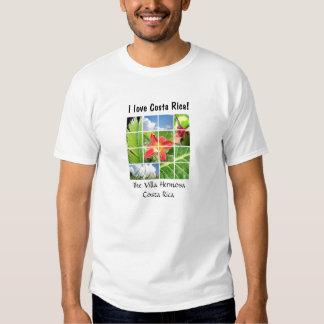 """A casa de campo Hermosa """"eu amo Costa Rica!"""" T dos T-shirts"""
