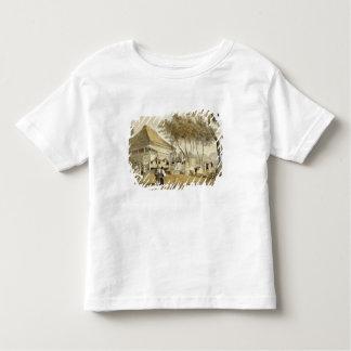 A casa de empresa de fogo e o motor, Yokuhama, 'de T-shirt