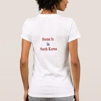 A casa está na Coreia do Norte Camisetas